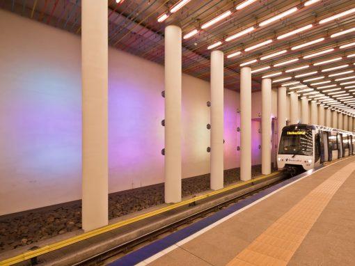 Metro station Rotterdam Centraal
