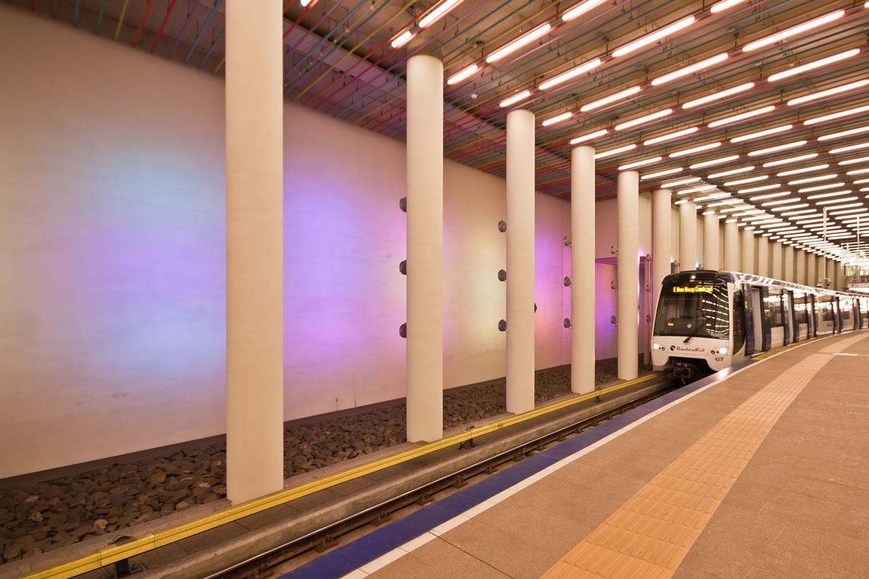 Metro station Rotterdam Centraal (1)