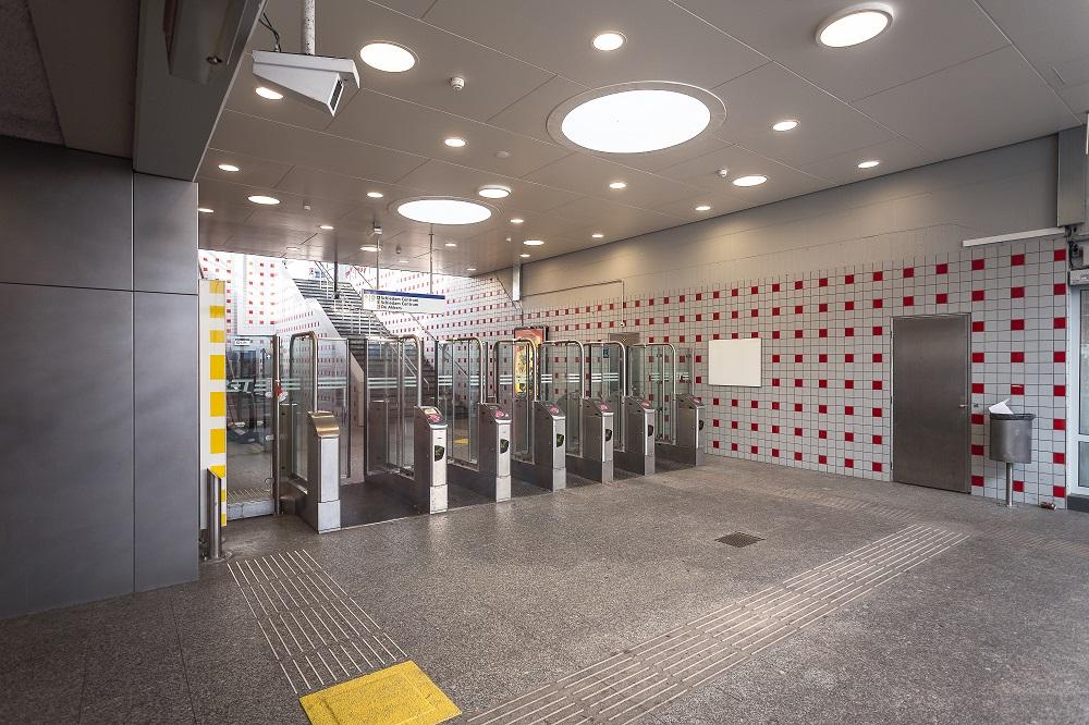 Metrostation Capelsebrug (2)